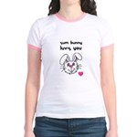 sum bunny luv's you Jr. Ringer T-Shirt