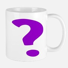 Purple Question Mark Mugs