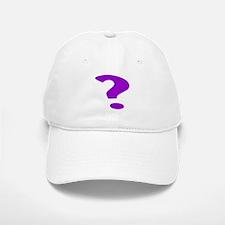 Purple Question Mark Baseball Baseball Baseball Cap