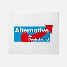 Alternative fur Deutschland Throw Blanket