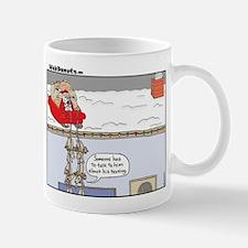 Santa-texting.jpg Mugs