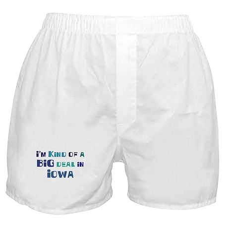 Big Deal in Iowa Boxer Shorts