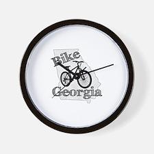 Bike Georgia Wall Clock