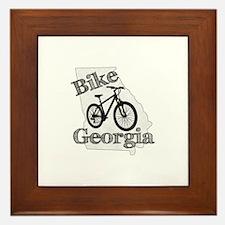 Bike Georgia Framed Tile