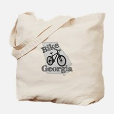 Bike Georgia Tote Bag