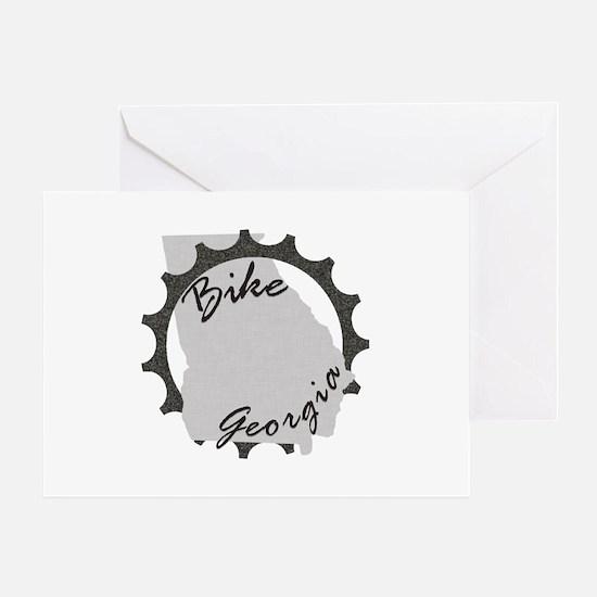 Bike Georgia Greeting Card