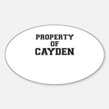 Property of CAYDEN Decal