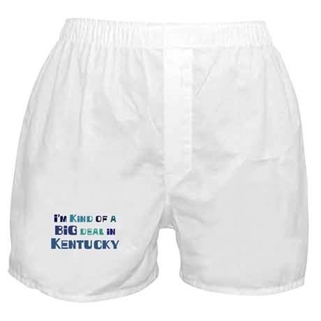 Big Deal in Kentucky Boxer Shorts