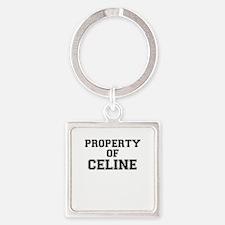 Property of CELINE Keychains