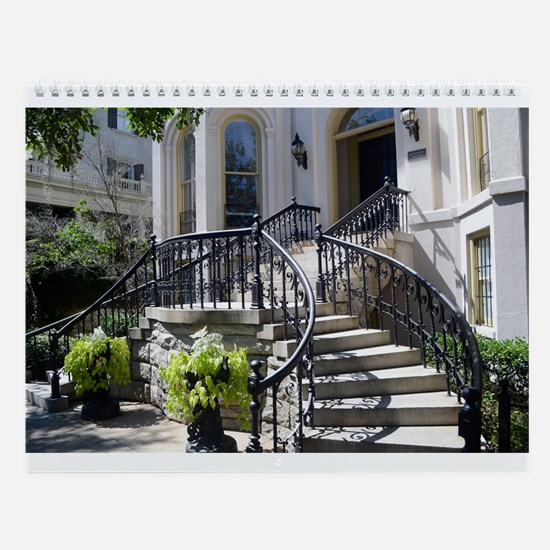 Charleston And Savannah Wall Calendar