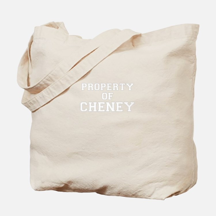 Property of CHENEY Tote Bag