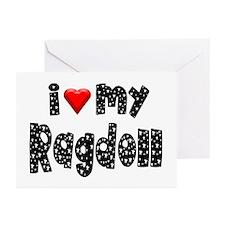 Ragdoll Greeting Cards (Pk of 10)