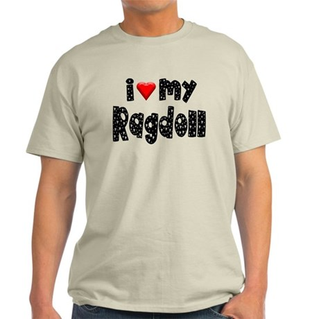 Ragdoll Ash Grey T-Shirt