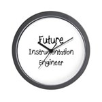 Future Instrumentation Engineer Wall Clock