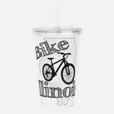 Bike Illinois Acrylic Double-wall Tumbler