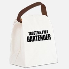 Trust Me, I'm A Bartender Canvas Lunch Bag