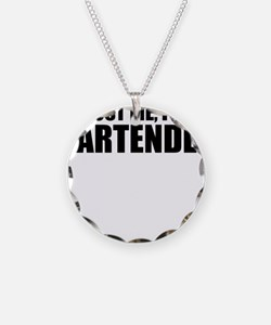 Trust Me, I'm A Bartender Necklace