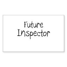 Future Inspector Rectangle Decal