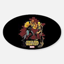 Power Man & Iron Fist Brick Wall Decal