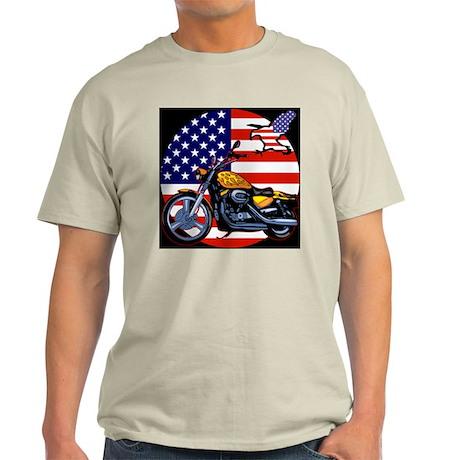 Patriotic Chopper Light T-Shirt