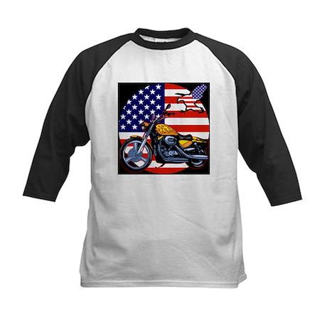 Patriotic Chopper Kids Baseball Jersey