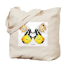 Fish Butterfly Tote Bag