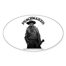 Peacemaker 01 Oval Decal