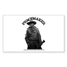 Peacemaker 01 Rectangle Decal