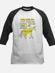 Unicorns Support Sarcoma Cancer Aw Baseball Jersey