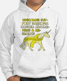 Unicorns Support Sarcoma Cancer Hoodie