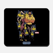 Power Man & Iron Fist #PMIF Mousepad