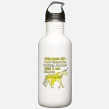 Unicorns Support Sarco Water Bottle