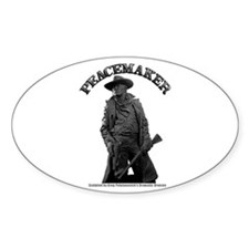 Peacemaker 02 Oval Decal