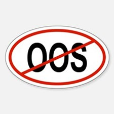 OOS Oval Decal