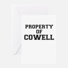 Property of COWELL Greeting Cards