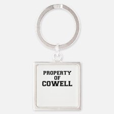 Property of COWELL Keychains