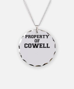 Property of COWELL Necklace