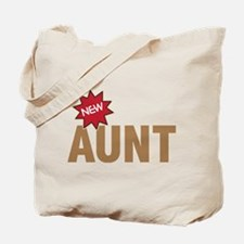 New Aunt Auntie Baby Birth Tote Bag