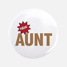 "New Aunt Auntie Baby Birth 3.5"" Button (100 pack)"