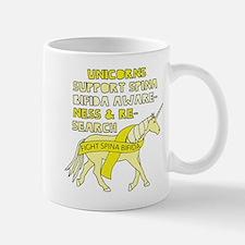 Unicorns Support Spina Bifida Awareness Mugs