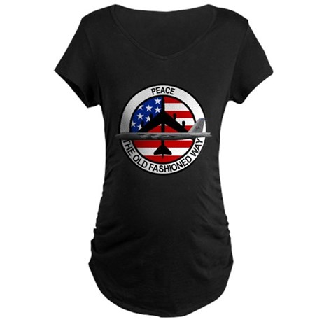 b-52 stratofortress Maternity Dark T-Shirt