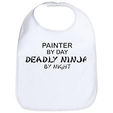 Painter Deadly Ninja Bib