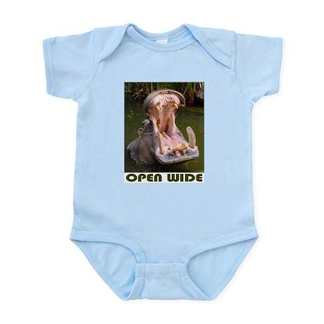 Hippo - Open Wide - Infant Bodysuit