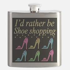 SHOE QUEEN Flask