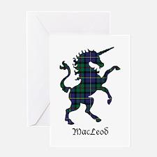 Unicorn - MacLeod Greeting Card