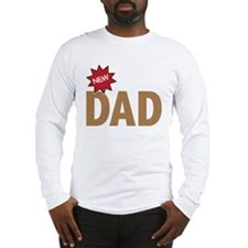 New Dad First Time Family Long Sleeve T-Shirt