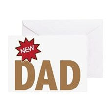 New Dad First Time Family Greeting Card