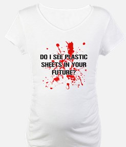 Do I See Plastic Sheets In Your Shirt