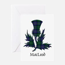 Thistle - MacLeod Greeting Card