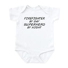 Firefighter Superhero Infant Bodysuit